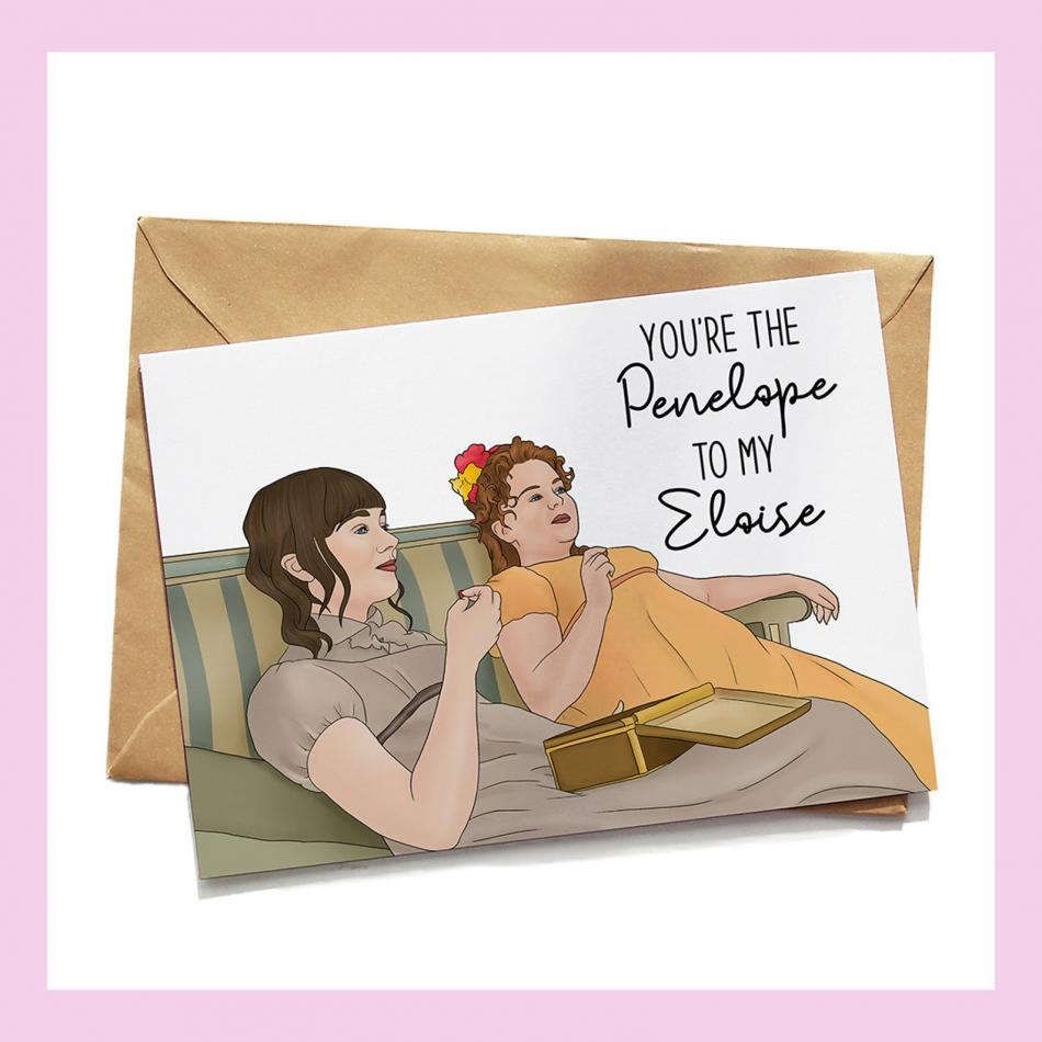 Bridgerton Card Penelope