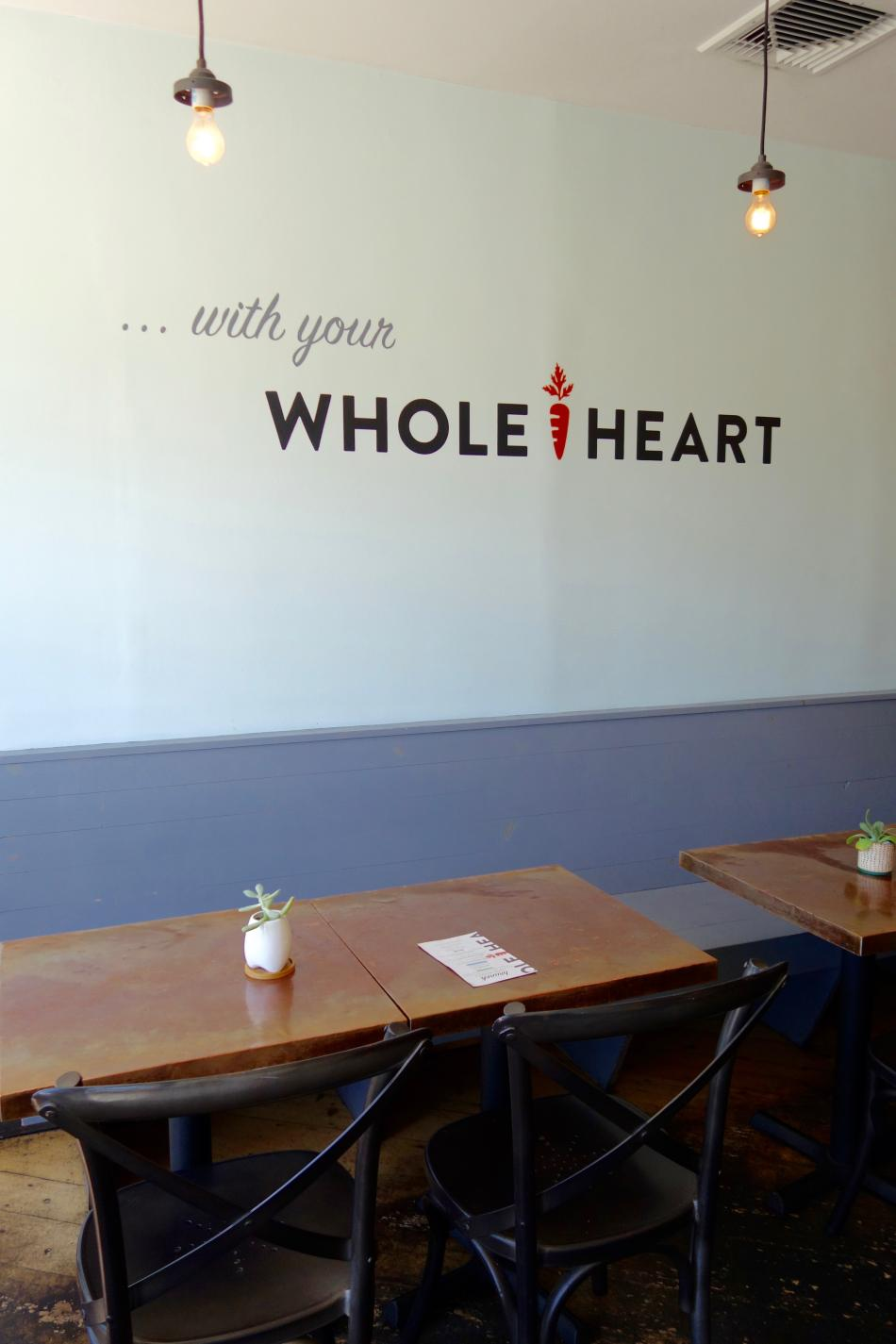 Whole Heart Provisions