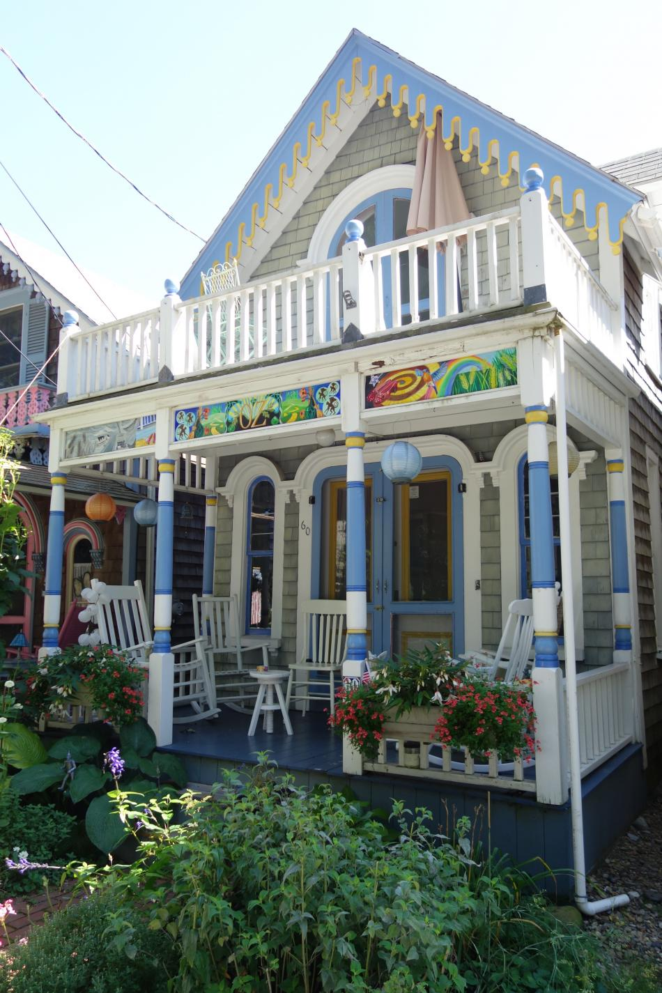Martha's Vineyard Gingerbread Houses