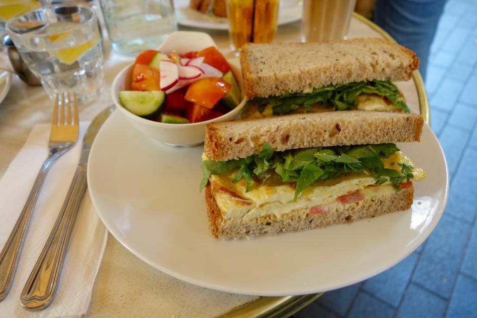 Cafe Bezalel Jerusalem