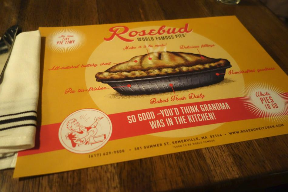 Photo of Rosebud placemat
