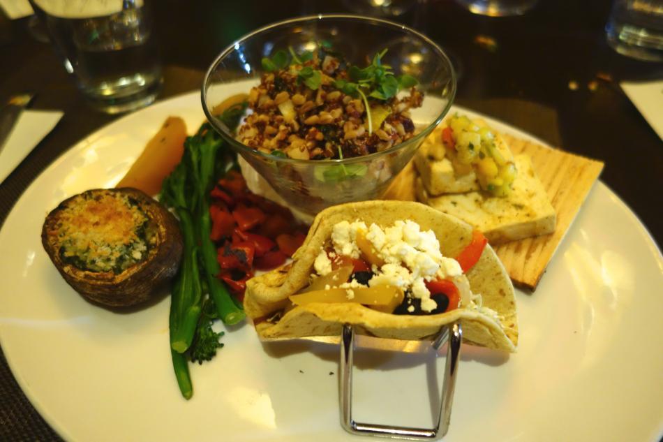Seasons 52 Vegetarian Tasting