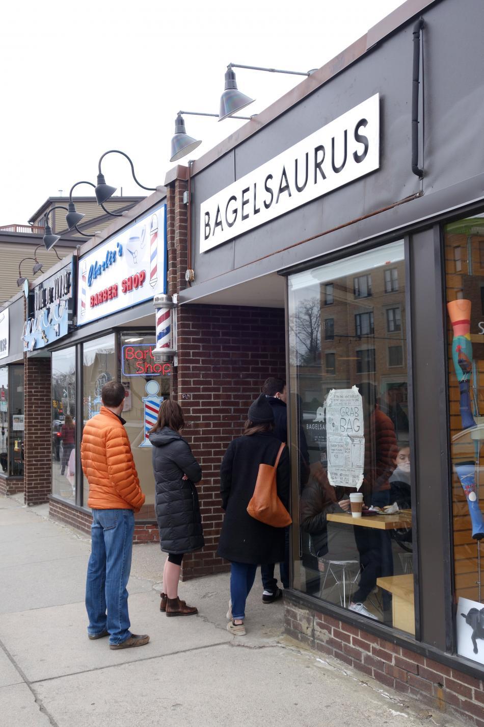 Bagelsaurus Storefront