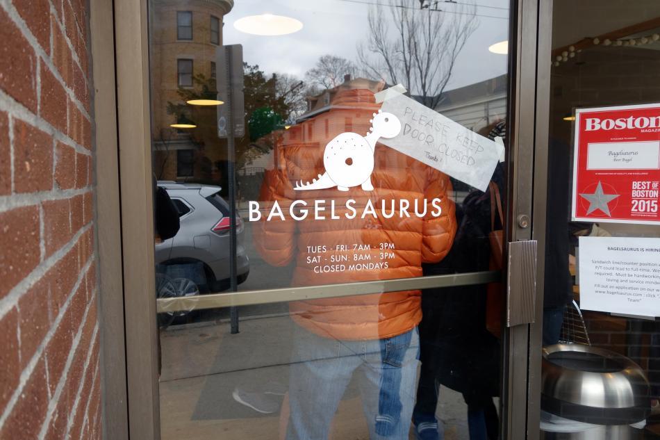 Bagelsaurus Logo