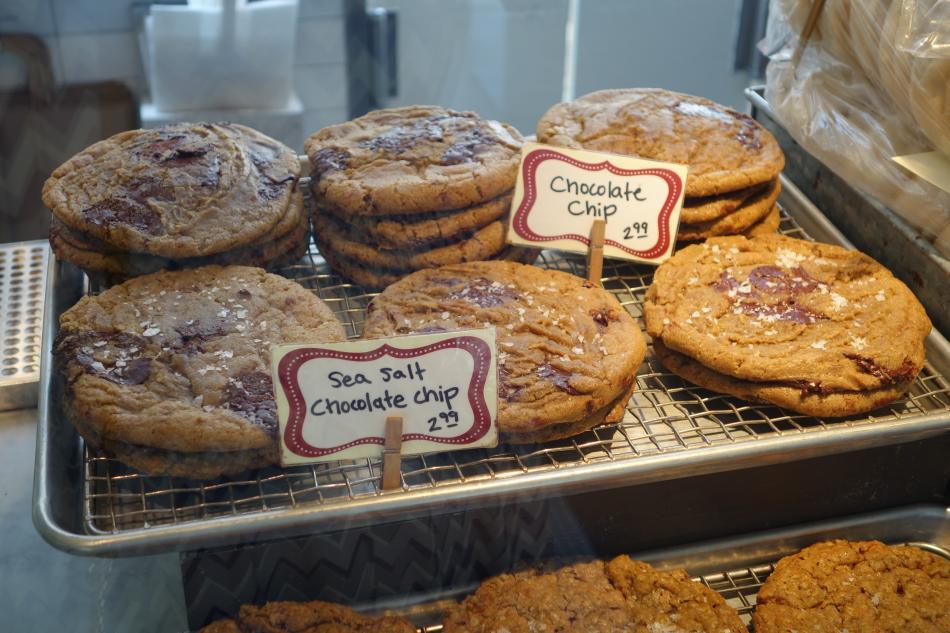 Sea Salt Cookies