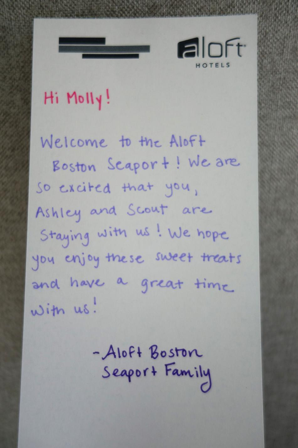 Aloft Boston Seaport