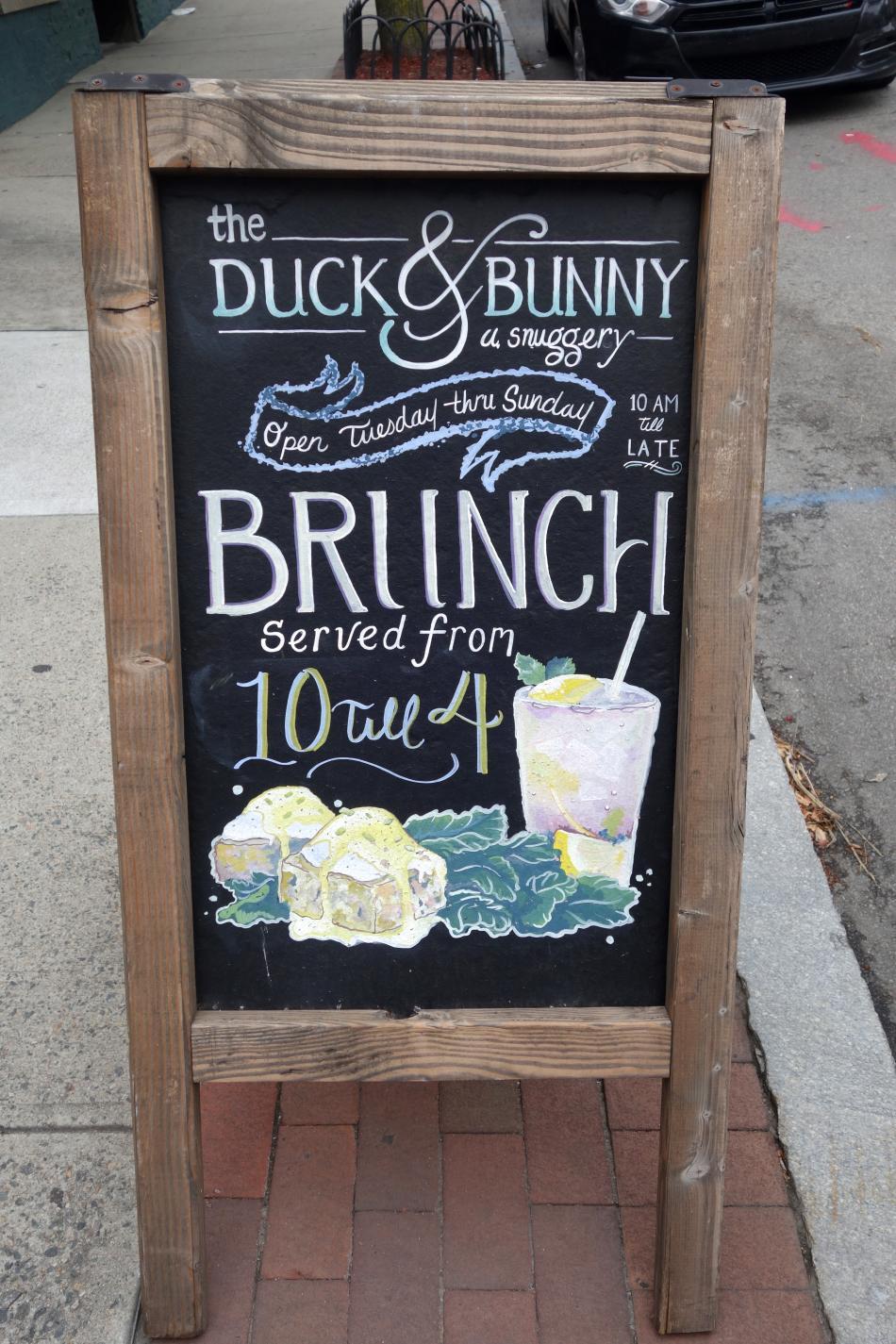 Duck & Bunny