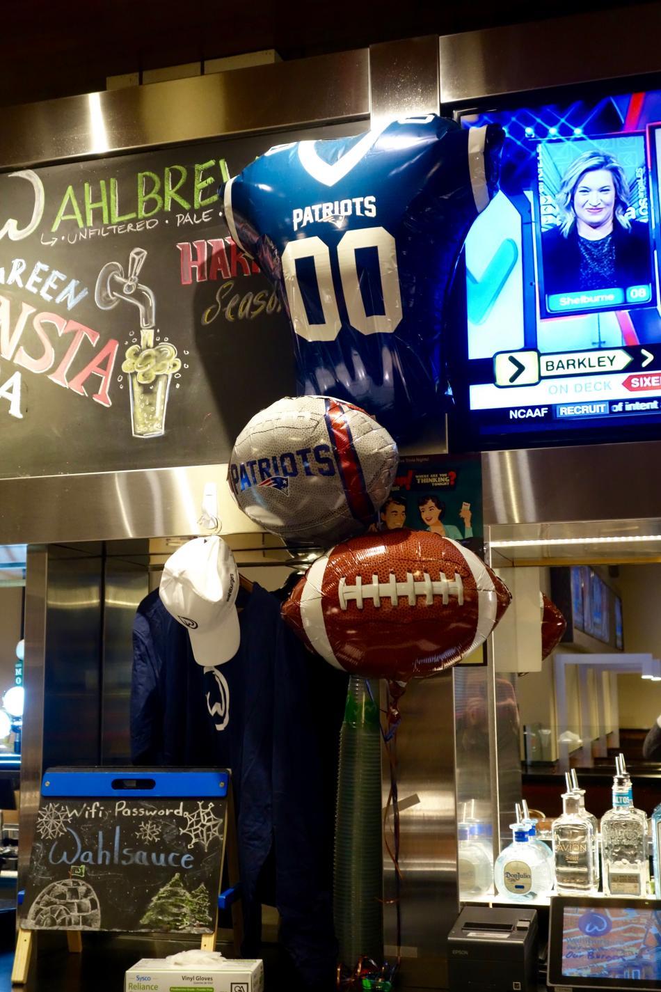 Wahlburgers Super Bowl