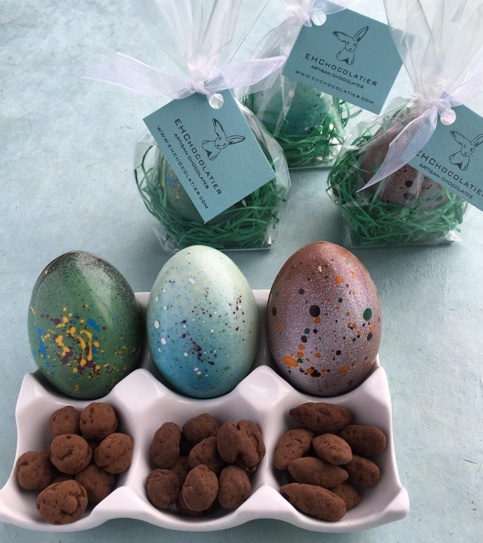 Easter Eggs with Nuts