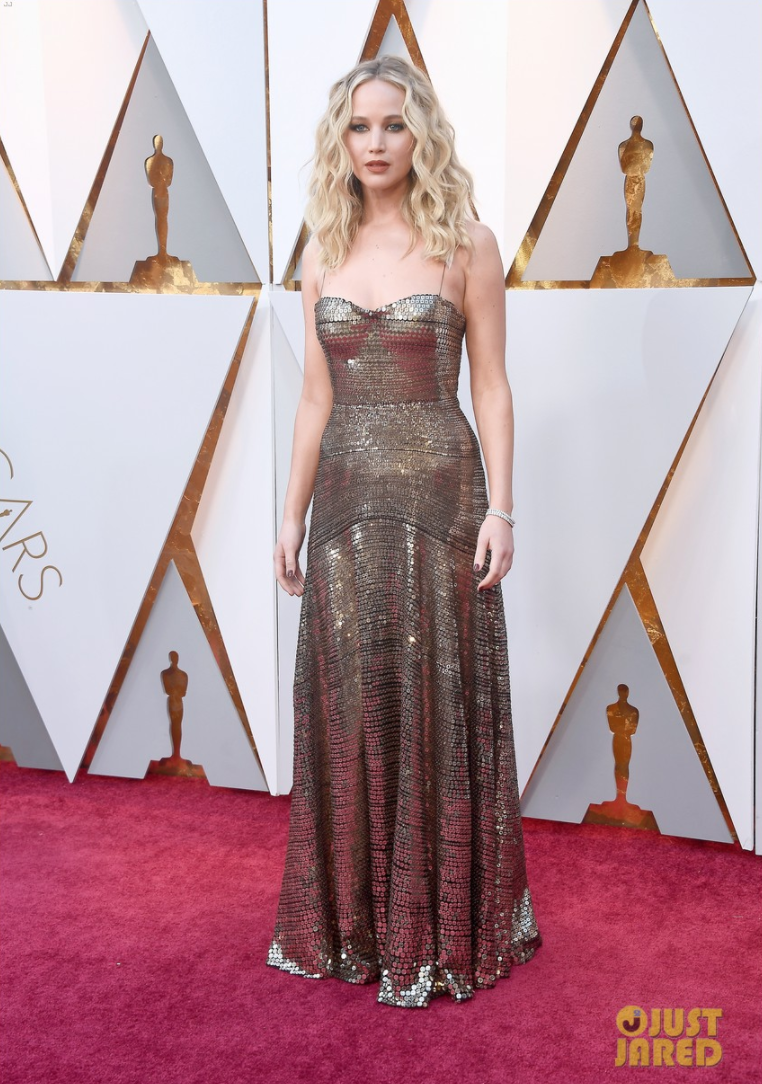 Jennifer Lawrence Oscars 2018
