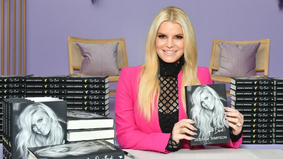 Jessica Simpson Open Book