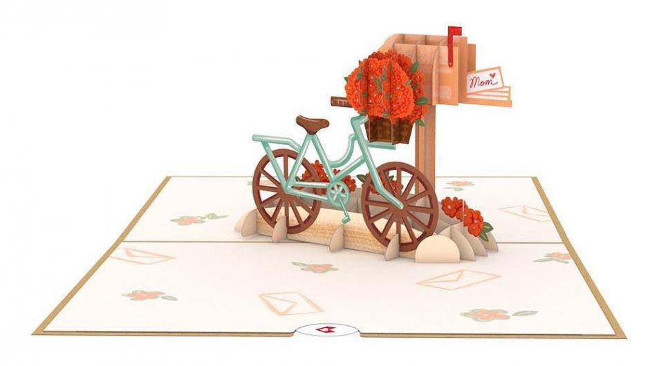Lovepop Flower Bicycle