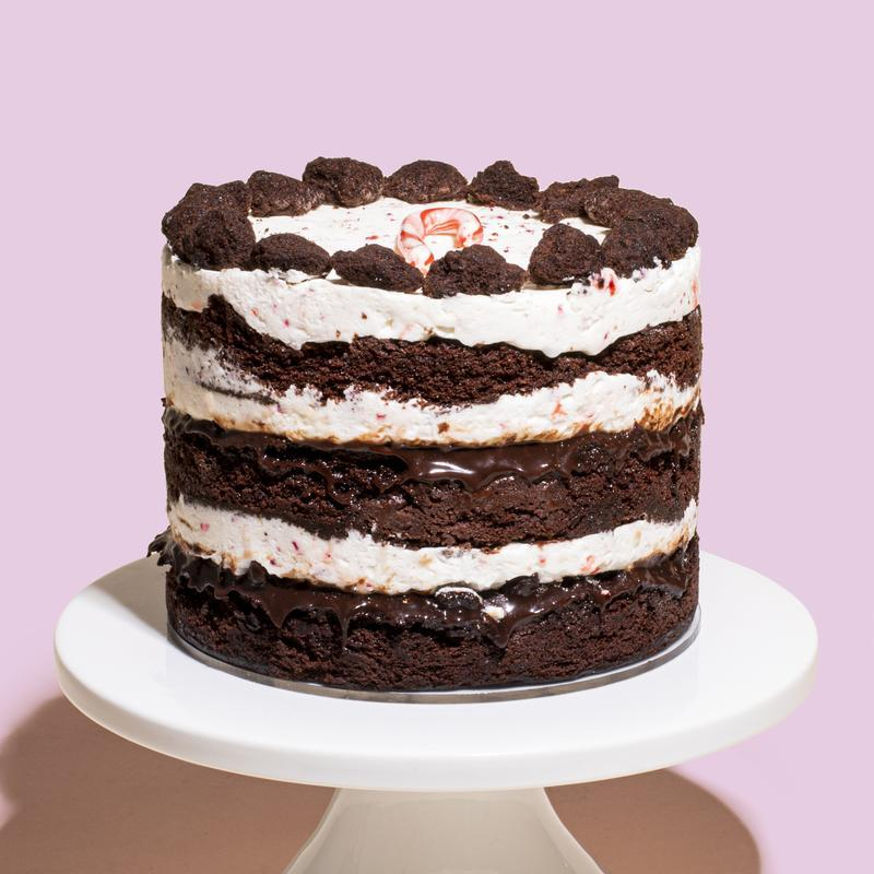 Milk Bar Peppermint Bark Cake