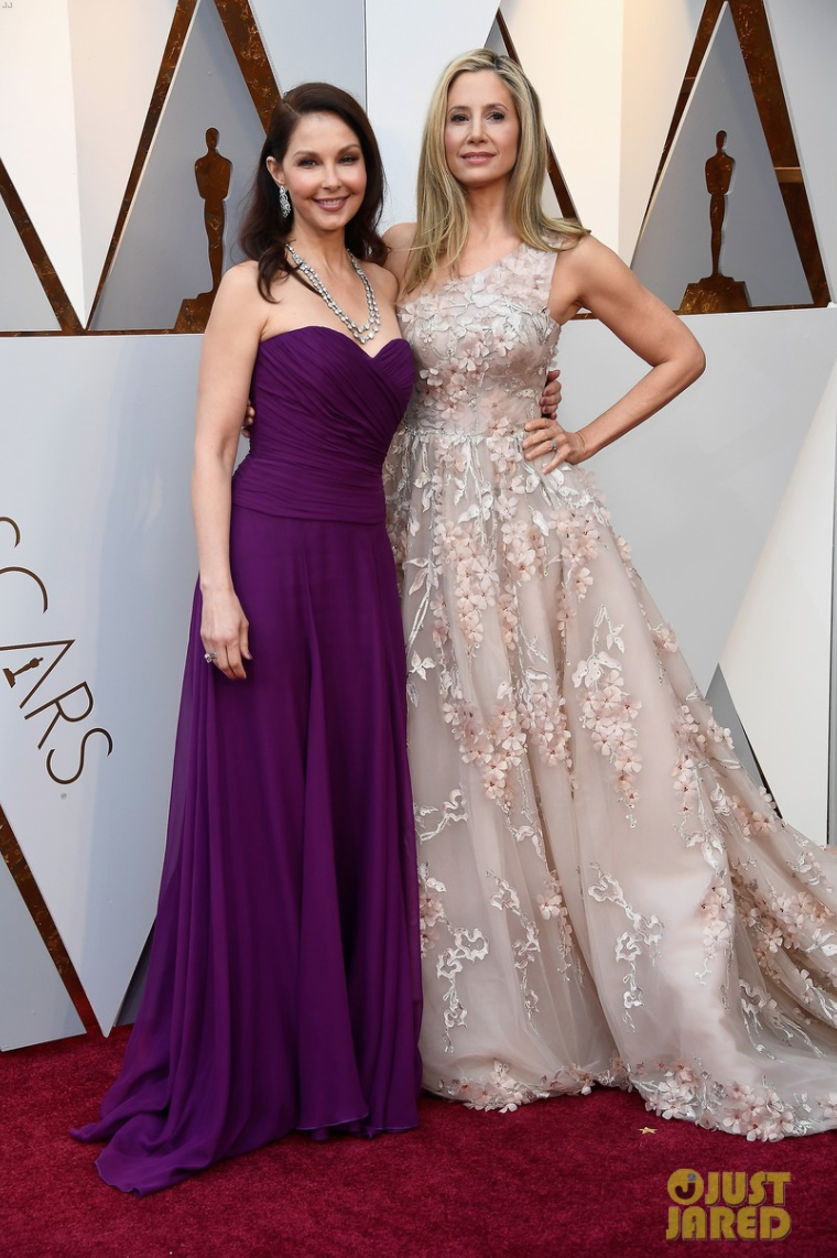 Mira Sorvino and Ashley Judd Oscars 2018