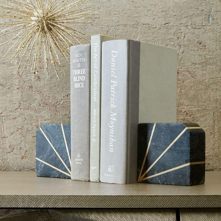 West Elm Bookends