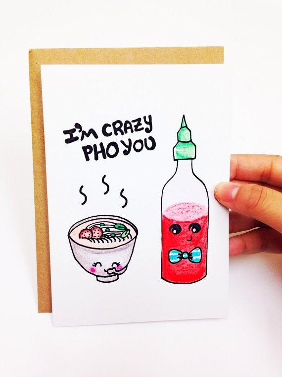 Pho Valentine's Day Card