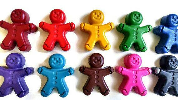 Gingerbread Crayons