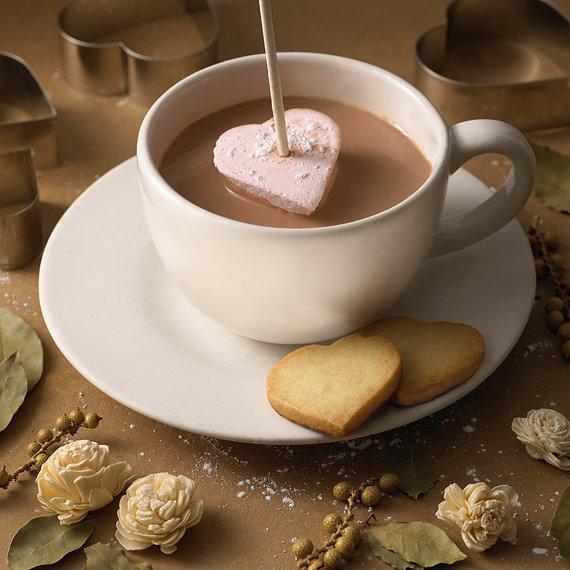 Heart Shaped Hot Chocolate