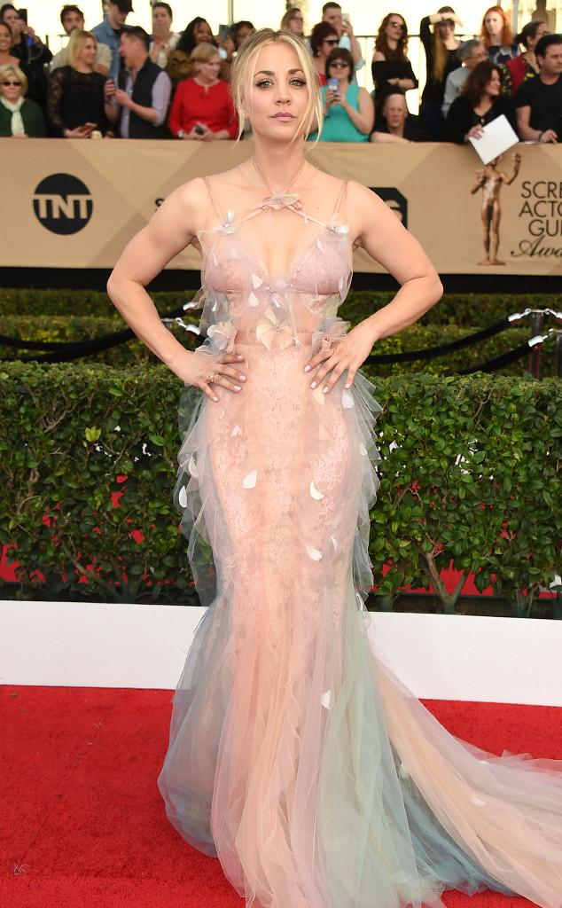 SAG Awards Kaley Kuoco