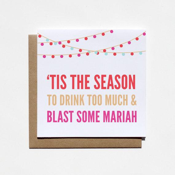 Mariah Carey Card