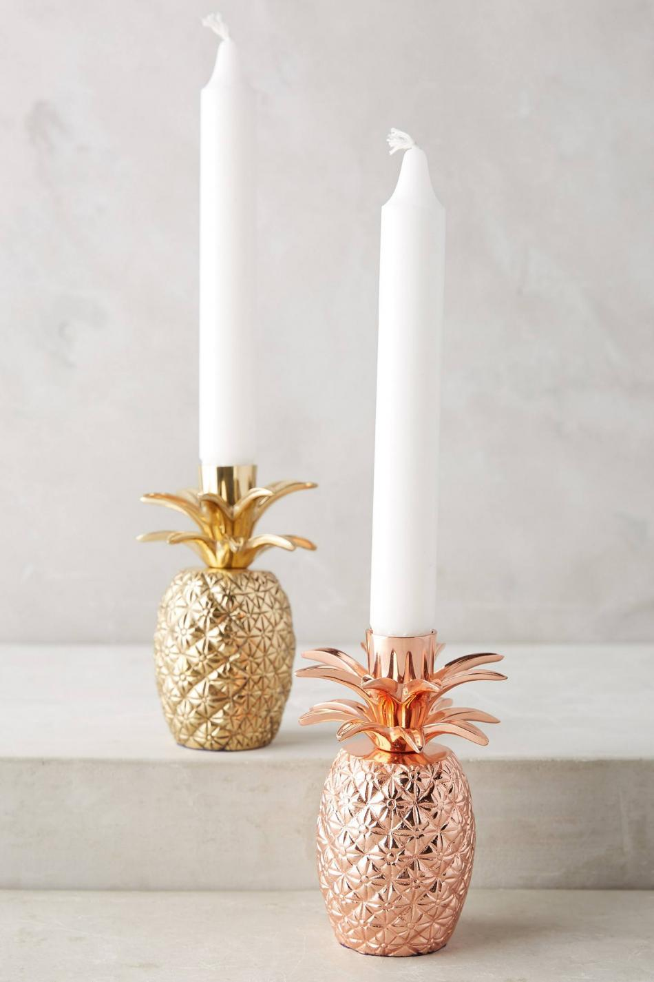 Anthropologie Candle Holders