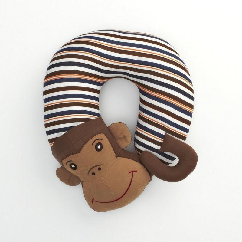 Monkey Travel Pillow