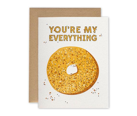 Everything Bagel Valentine