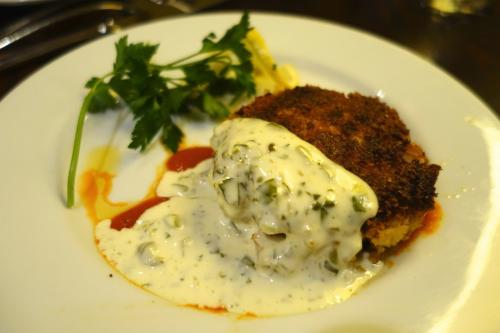 Photo of crab cake at Gibbet Hill Grill