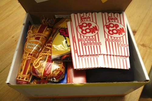 Photo of inside of Sunny Exchange box.