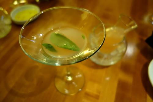 Photo of Two of the girls ordered the Grapefruit Basiltini.